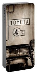 1978 Toyota Land Cruiser Fj40 Taillight Emblem -1191s Portable Battery Charger