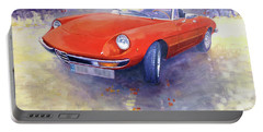 1980 Alfa Romeo Spider 2000 Veloce  Portable Battery Charger