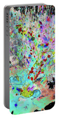 Portable Battery Charger featuring the painting 1987.032914invertx2 by Kris Haas