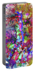 Portable Battery Charger featuring the painting 1988.033014invertfadediff by Kris Haas