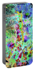 Portable Battery Charger featuring the painting 1988.033014invertx2 by Kris Haas