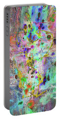 Portable Battery Charger featuring the painting 1989.033014invertx2 by Kris Haas
