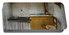 Portable Battery Charger featuring the photograph 19th Century Kitchen In Amsterdam by RicardMN Photography