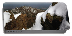 Portable Battery Charger featuring the photograph 1a6485 Snow On Mt. Diablo Ca by Ed Cooper Photography