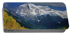 1m2441-h Mt. Robson And Yellowhead Highway H Portable Battery Charger