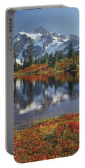 1m4208 Mt. Shuksan And Picture Lake Portable Battery Charger