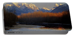 1m4525 Skykomish River And West Central Cascade Mountains Portable Battery Charger