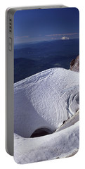 Portable Battery Charger featuring the photograph 1m5140 Crater On Mt. Hood Or by Ed Cooper Photography
