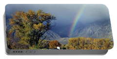 1m6345 Rainbow In Sierras Portable Battery Charger