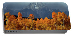 1m9235 Mt. Moran In Autumn Portable Battery Charger