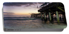 1st Dawn Cocoa Pier Portable Battery Charger by Jennifer White