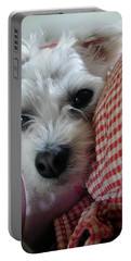 Yorkie Heichel Portrait 2 Portable Battery Charger