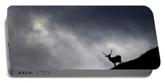 Stag Silhouette Portable Battery Charger