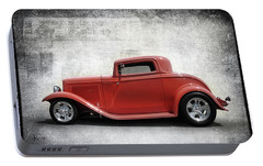 Portable Battery Charger featuring the photograph 3 Window Coupe by Keith Hawley