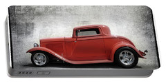 3 Window Coupe Portable Battery Charger by Keith Hawley