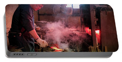 4th Generation Blacksmith, Miki City Japan Portable Battery Charger