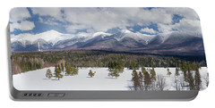 A Beautiful Panorama Of The Presidential Mountain Range In New H Portable Battery Charger