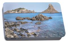 Aci Trezza - Sicily Portable Battery Charger by Joana Kruse