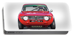 Alfa Romeo Gtv Illustration Portable Battery Charger