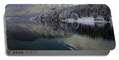 Alpine Winter Reflections Portable Battery Charger