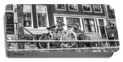 Amsterdam Street Portable Battery Charger by Yury Bashkin