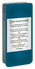 Apache Wedding Blessing Portable Battery Charger