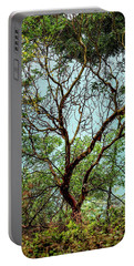 Arbutus Tree Portable Battery Charger by Sabine Edrissi