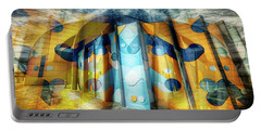 Portable Battery Charger featuring the photograph Architectural Abstract by Wayne Sherriff