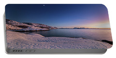 Arctic Sunset Portable Battery Charger