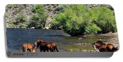 Arizona Wild Horses Portable Battery Charger
