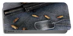 Assault Rifle Portable Battery Charger