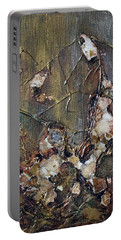 Portable Battery Charger featuring the painting Autumn Leaves by Joanne Smoley