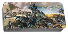 Battle Of Fort Wagner, 1863 Portable Battery Charger