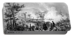 Portable Battery Charger featuring the drawing Battle Of Gettysburg by War Is Hell Store
