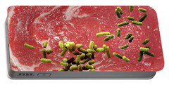 Beef Contaminated With E. Coli Portable Battery Charger