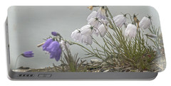 Portable Battery Charger featuring the photograph Bellflower by Heiko Koehrer-Wagner