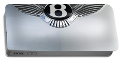 Bentley Emblem Portable Battery Charger by Pamela Walrath