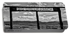 Big Creek Ranch Portable Battery Charger by L O C