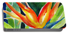 Bird Of Paradise  Portable Battery Charger by Carlin Blahnik