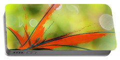 Bird Of Paradise 2 Portable Battery Charger by Kume Bryant