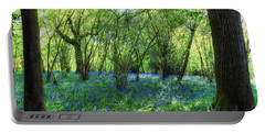 Bluebells In The New Forest Portable Battery Charger