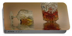 Brandy Decanter Glass Portable Battery Charger by David French
