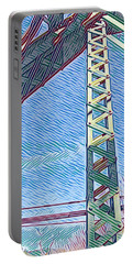 Bridge At Guerneville Portable Battery Charger