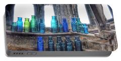 Bromo Seltzer Vintage Glass Bottles  Portable Battery Charger