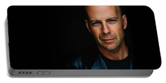 Bruce Willis Portable Battery Charger