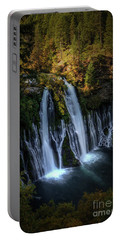 Burney Falls Portable Battery Charger by Kelly Wade