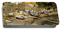 Portable Battery Charger featuring the photograph Cadgwith Cove by Brian Roscorla