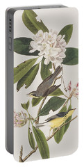 Canada Warbler Portable Battery Charger by John James Audubon