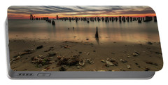 Portable Battery Charger featuring the photograph Cape Charles by Kevin Blackburn