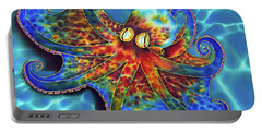 Caribbean Octopus Portable Battery Charger